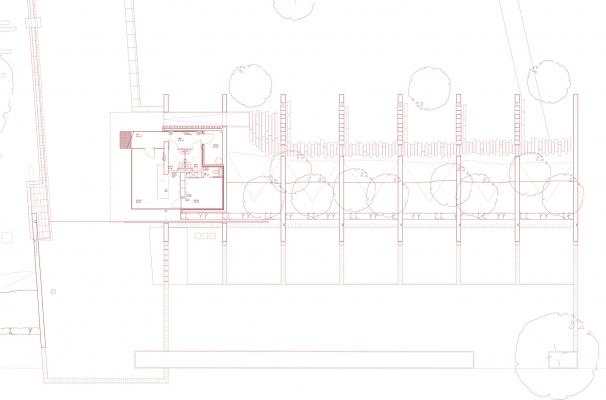 Plan columbarium