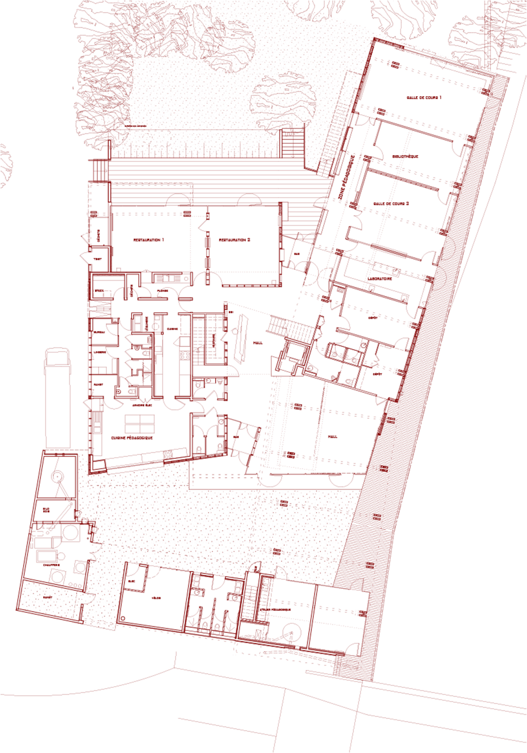 maison de la nature muttersholtz ixo architecture