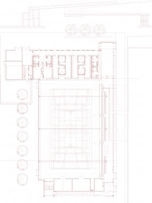 Plan salle multisport