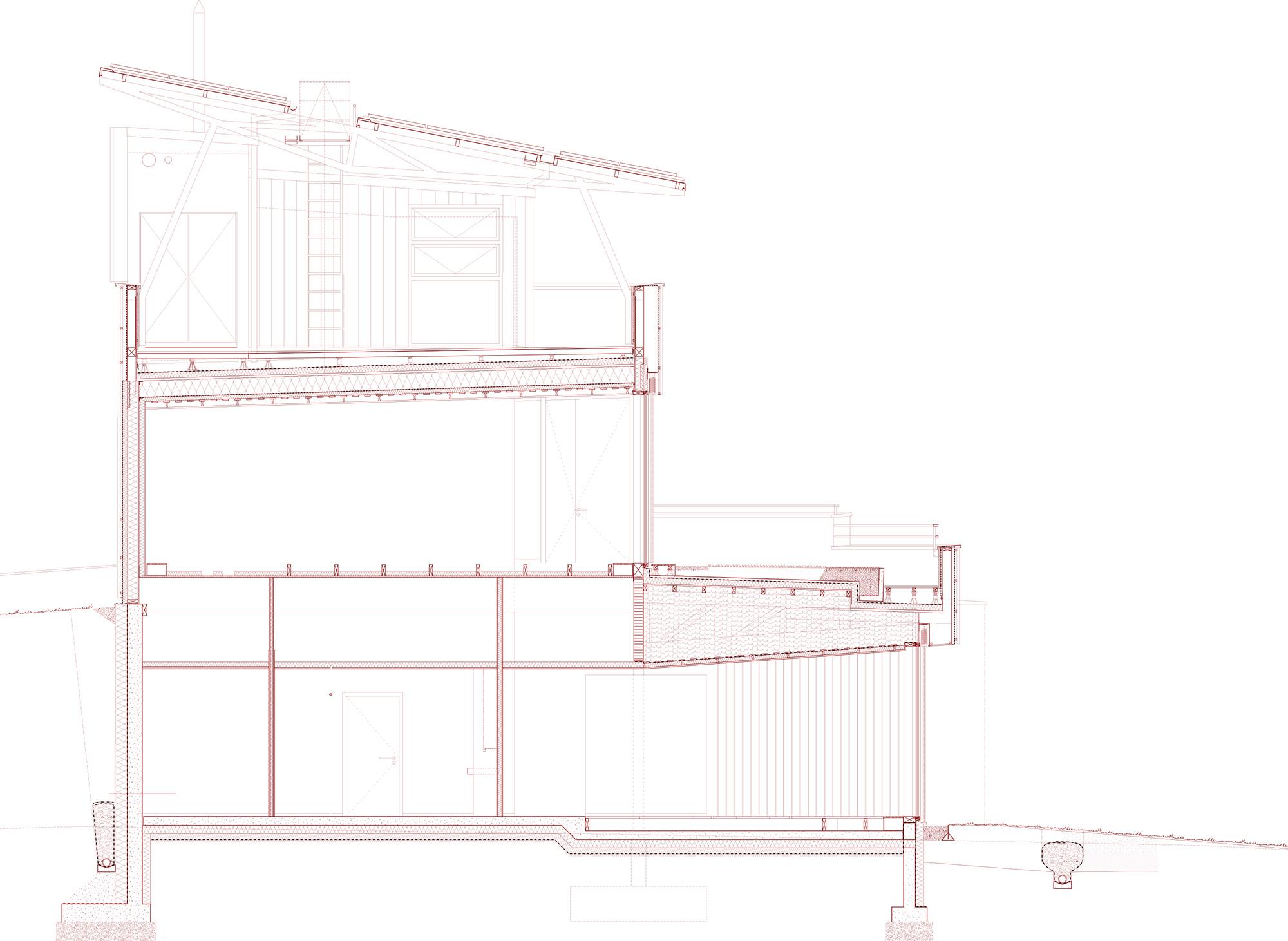 maison des nergies h ricourt ixo architecture. Black Bedroom Furniture Sets. Home Design Ideas