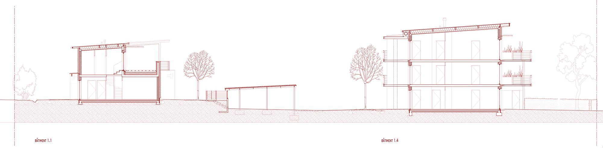 84 logements bbc locatifs et en accession dijon ixo architecture. Black Bedroom Furniture Sets. Home Design Ideas