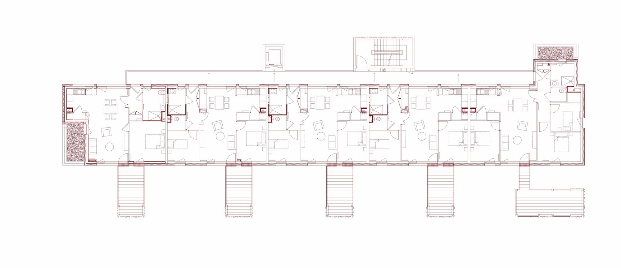 28 logements en accession sociale obernai ixo architecture for Courant architectural