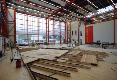Restructuration des ateliers de décors du TNS
