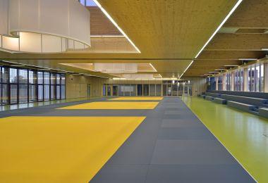 Complexe sportif dédié, Judo et Basket